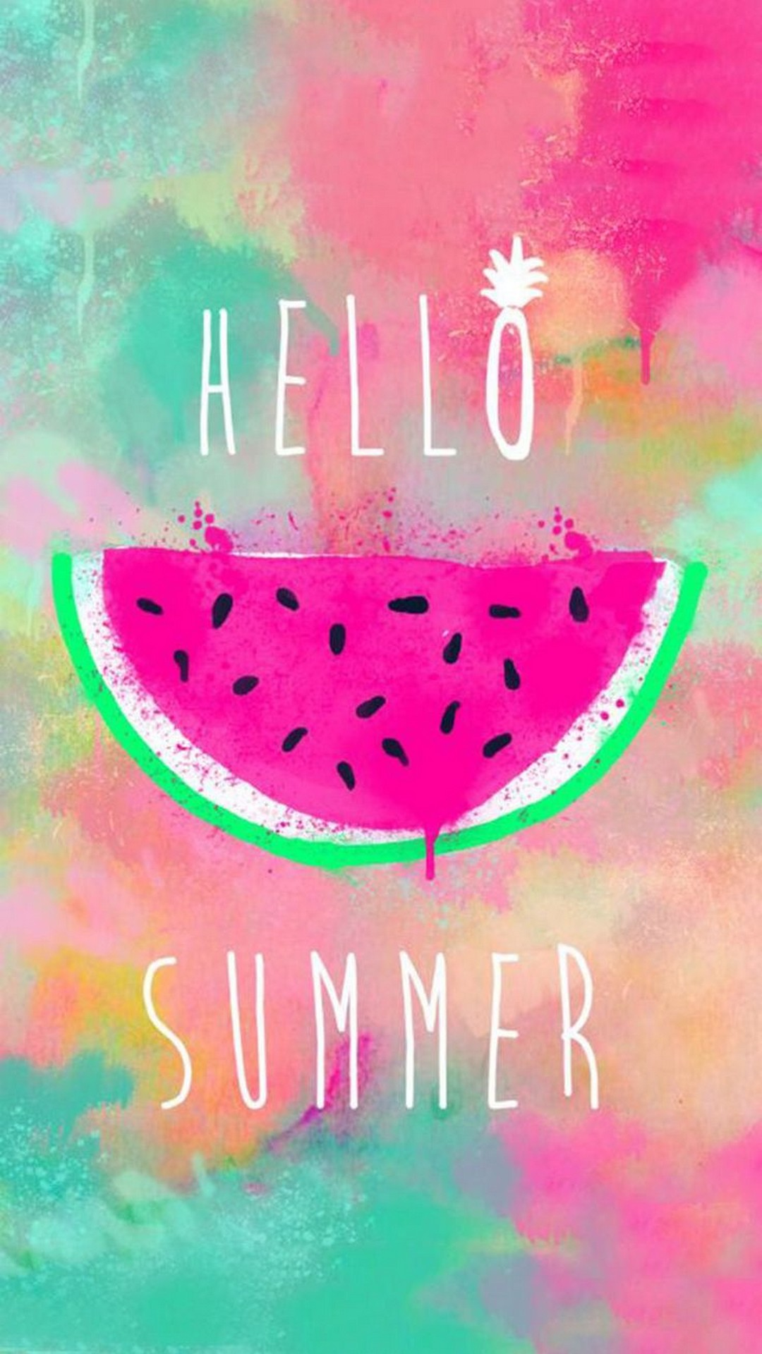 Hello Summer Cute Girly Wallpaper Android 1080x1920