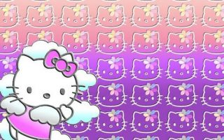 Sanrio Hello Kitty Desktop Wallpaper with resolution 1920X1080 pixel. You can use this wallpaper as background for your desktop Computer Screensavers, Android or iPhone smartphones