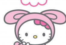 Wallpaper Hello Kitty iPhone